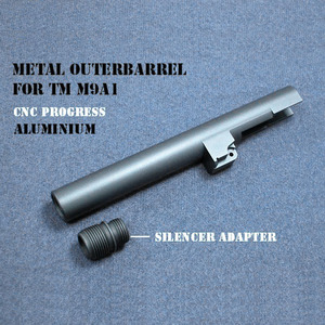 MARUI M9A1 SILENCER TYPE OUTERBARREL