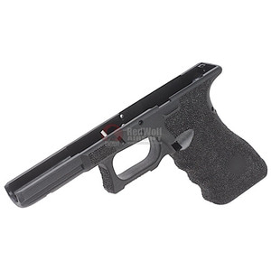 Guns Modify Polymer Gen 3 RTF Frame (Stippling S Style) for Tokyo Marui Model 17 - Black