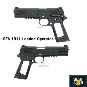 SFA 1911 Loaded Operator Slide and Framefor Marui MEU -Matt Black